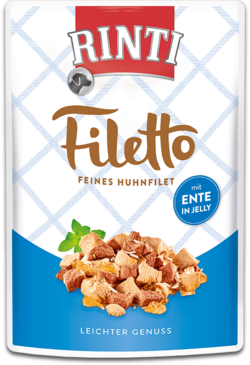 Filetto  - Huhnfilet mit Ente  - Frischebeutel - 100g