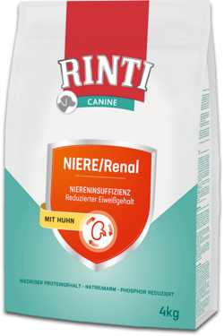 Canine - NIERE/Renal Huhn - Beutel - 2x4kg
