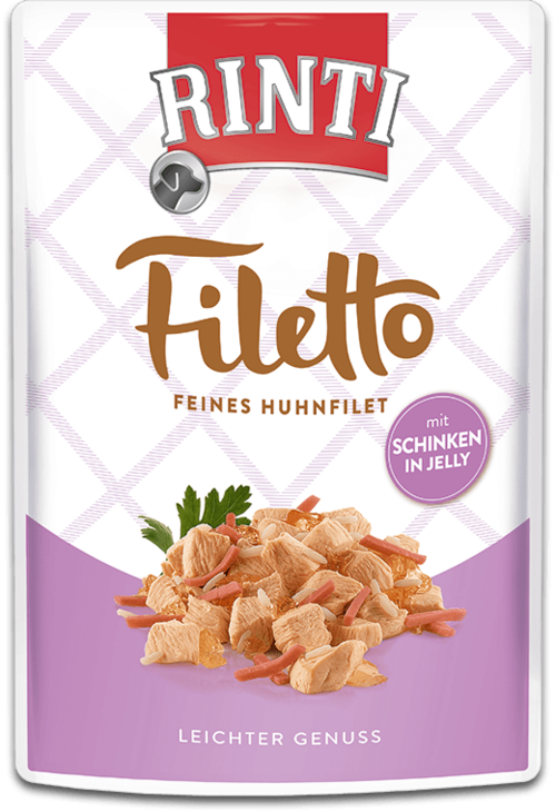 Rinti Filetto  Huhnfilet mit Schinken 100g