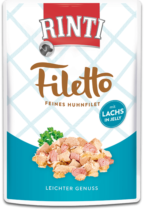 Rinti Filetto  Huhnfilet mit Lachs 100g