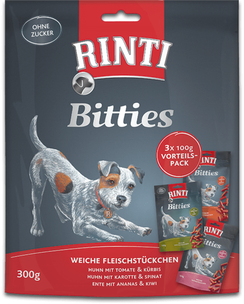 Rinti Bitties Multipack 3x100g 8x3x100g
