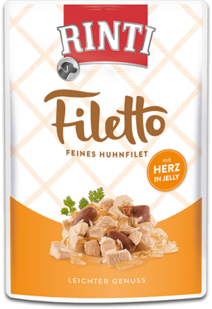 Rinti Filetto  Huhnfilet mit Herz 100g