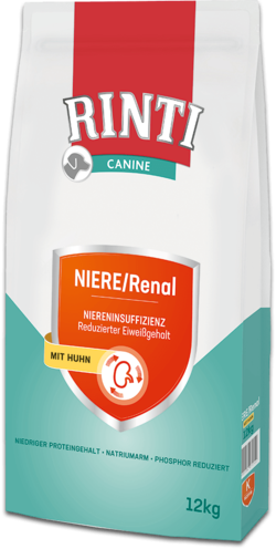 Canine - NIERE/Renal Huhn - Beutel - 12kg