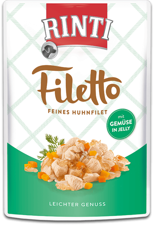 Rinti Filetto  Huhnfilet mit Gemüse 100g